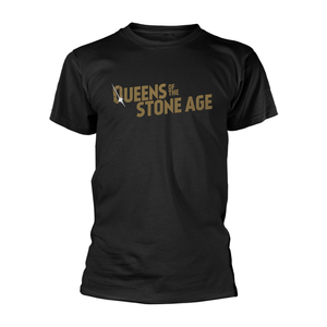 Queens Of The Stone Age - Text Logo (metallic)