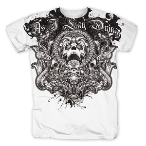 As I Lay Dying - Circle Of death (white) - XL