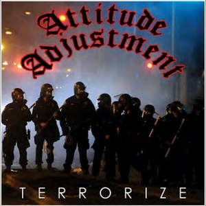 Attitude Adjustment - Terrorize - col. lp