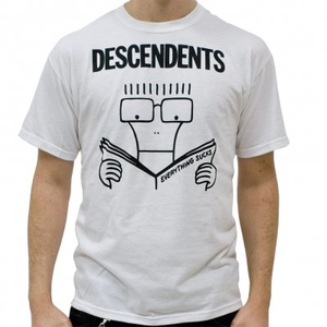 Descendents - Everything Sucks (white) - L
