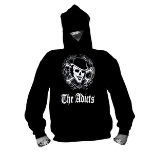 Adicts, The - Goth Skull / Hoodie
