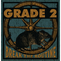 Grade 2 - Break The Routine - (US) col. lp