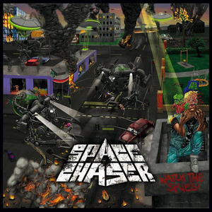 Space Chaser - Watch the skies - col. lp