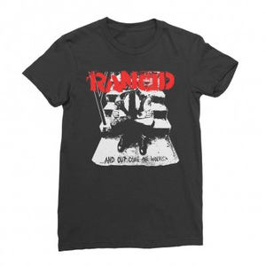 Rancid - And Out Come The Wolves (black)