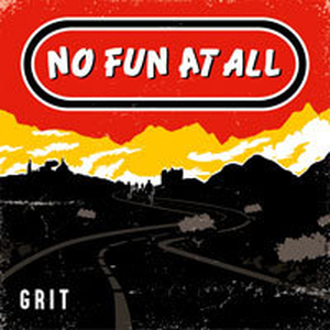 No Fun At All - Grit col lp