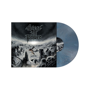 Siege of Power - Warning Blast col lp (blue)