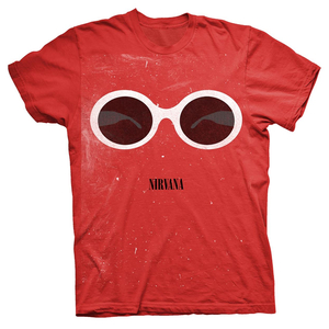 Nirvana - Red Sunglasses (red) S