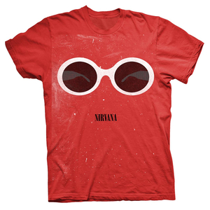Nirvana - Red Sunglasses (red) XL