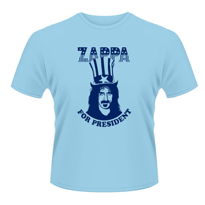Frank Zappa - Zappa for President (blue) S