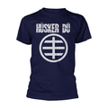 Hüsker Dü - Circle Logo 1 (blue) XL