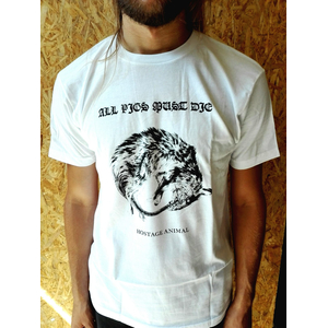 All Pigs Must Die - Ouroboros (white) XL