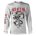 Sick Of It All - Eagle - Longsleeve (white)
