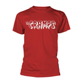 Cramps - Logo White (red)