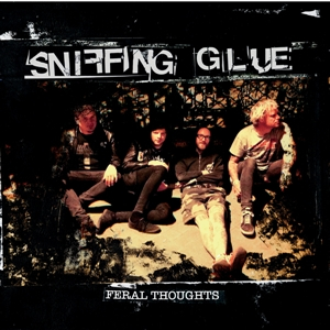 Sniffing Glue - Feral Thoughts - lp