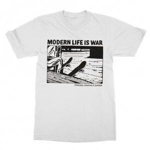 Modern Life Is War - Cracked (white)
