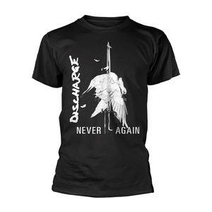 Discharge - Never Again (black)