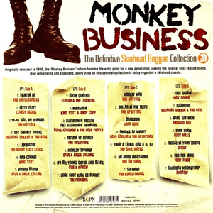 v/a - Monkey Business: The Definitive Skinhead Reggae Collection - 2xlp