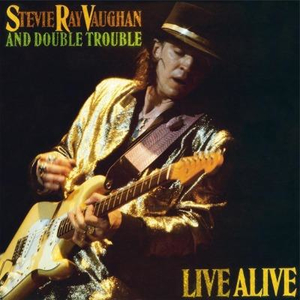 Stevie Ray Vaughan - Live Alive - lp