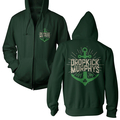 Dropkick Murphys - Anchor Admat Green (Zipper)